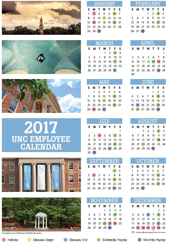 Unc Academic Calendar.Unc Academic Calendar 2017 2018