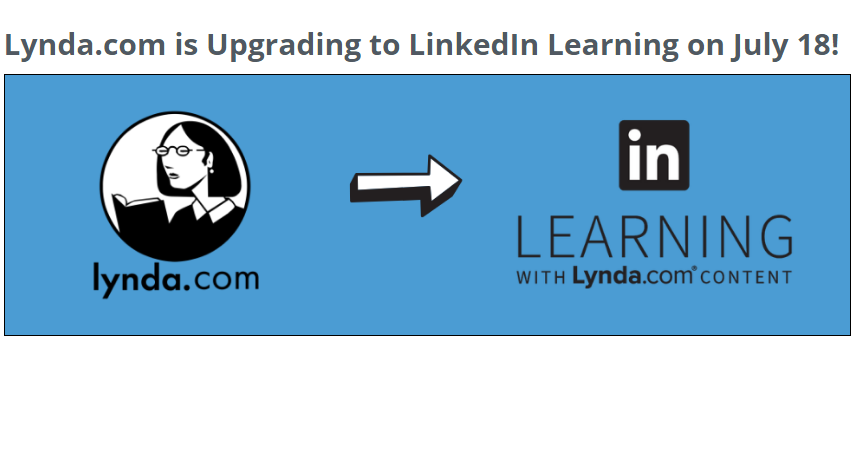 Linda Training provided to all UNC Users is moving to LinkedIn